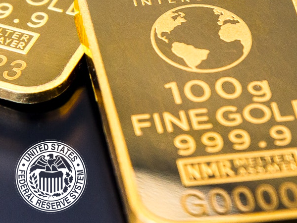 ECB and Fed push gold